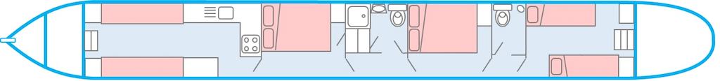 The 8 Berth Layout
